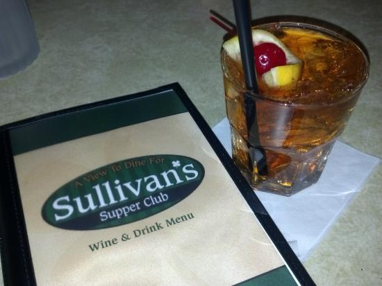 Sullivan's Supper Club - historic and scenic - Trempealeau WI - Classic Old Fashioned
