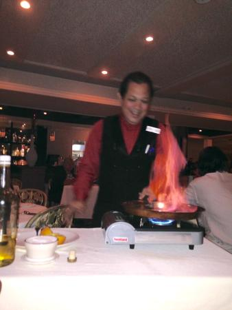 French Steakhouse : let there be fire