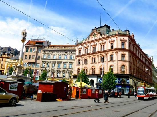 Brno, Tsjekkia: Square