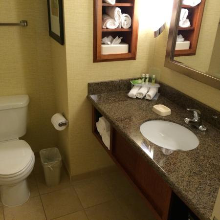 Holiday Inn Express Denver Airport: Bath room