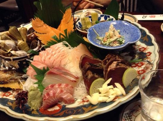 Tsukasa Kochihonten: 皿鉢料理