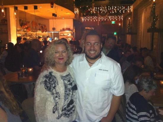 Broadway by Amar Santana: Me and Chef Amar Santana, Wonderful to meet this talented Chef!!!!