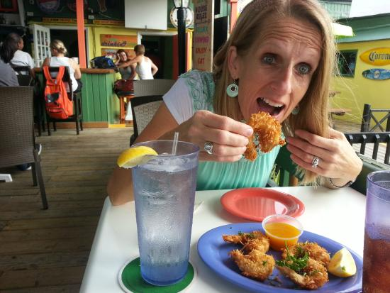 Coconut Joe's Beach Bar & Grill: coconut shrimp