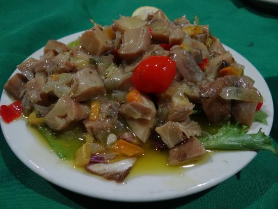 El Eden : Conch Salad appetizer - not bad
