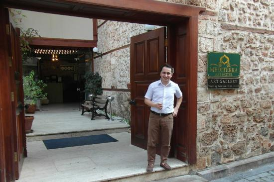 Mediterra Art Hotel : Koray. With great respect and thanks Sir.