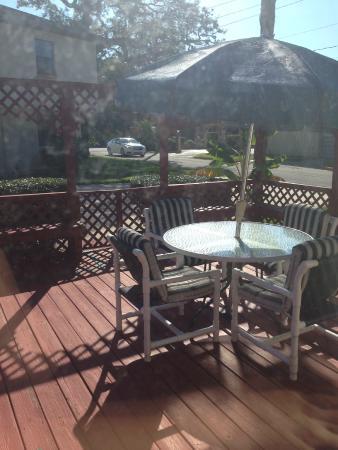 Travelodge Suites Saint Augustine: parking lot deck