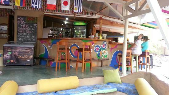 Buganvilla Cafe : la barra
