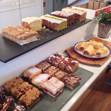 Chesters By The River: Cake selection.