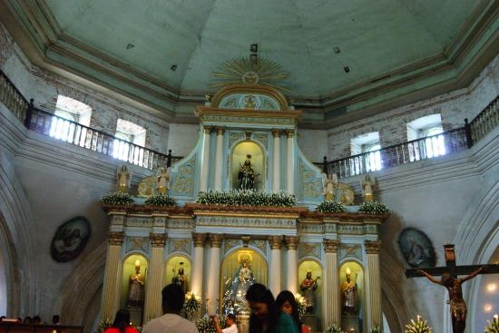Bacolor, Philippinen: THE Altar