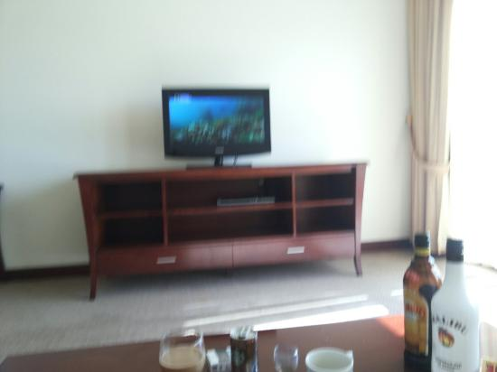 Siji Hotel Apartments: Living area
