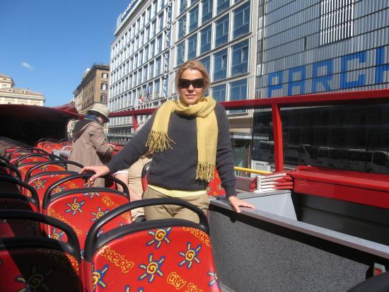 Hotel Contilia: РИМ с высоты туристического автобуса