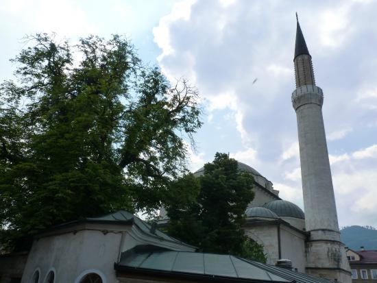 Gazi Husrev-beg Mosque: il minareto