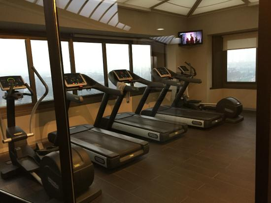 The Hub Hotel : Sala fitness