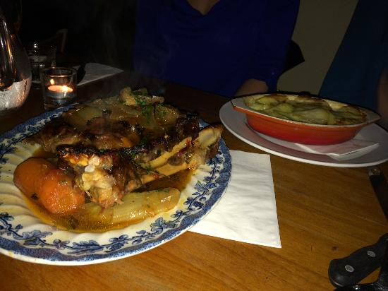 Great Queen Street: Seven hour lamb and gratin dauphinoise for two