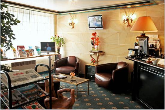 Hôtel de Clisson : Coin Réception & Salon