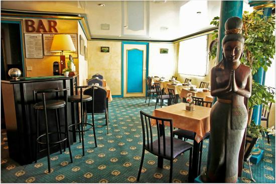 Hôtel de Clisson : Bar et Petit déjeuner