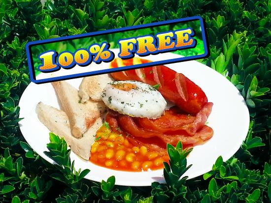 Abbots Hamilton Hotel and Conference Centre: FREE Breakfast