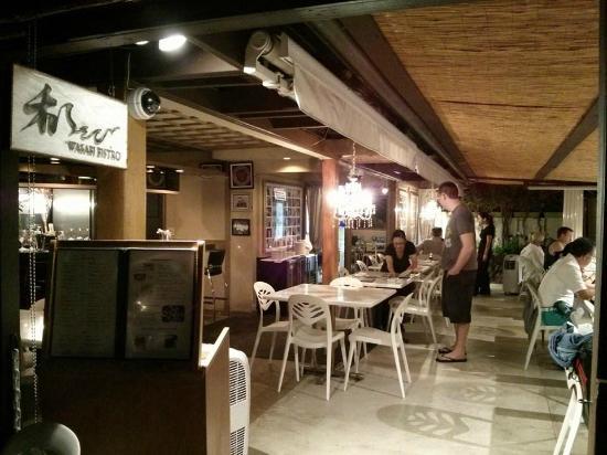 Wasabi Bistro: Inside the restaurant