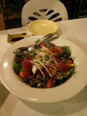 Wasabi Bistro: My favourite sashimi salad, best value ever! So delicious with Jap dressing!