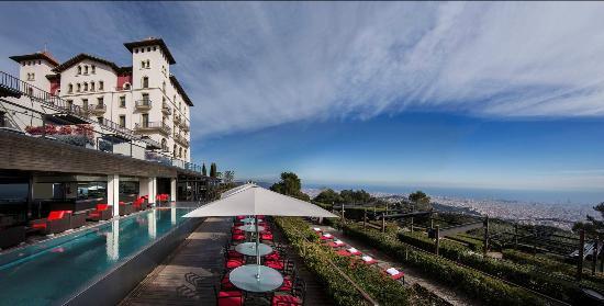Gran Hotel La Florida: Panorámica