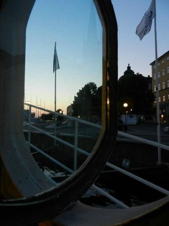 Malardrottningen Yacht Hotel and Restaurant: View from Yacht