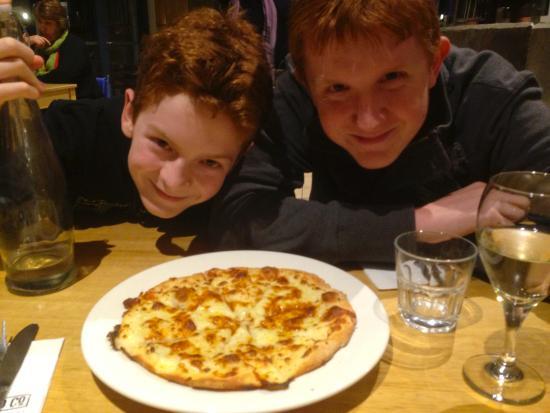 Levee Food Co.: Plentiful plates - very popular with teenagers.