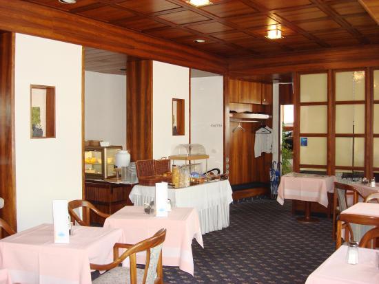 Olympia Hotel: Frühstücksrestaurant