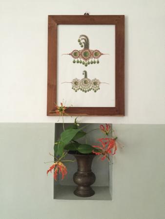 Villa Jacaranda: fresh flowers