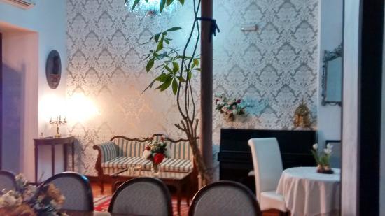 Boutique Hotel Nueve Leyendas: Zona del la entrada...hall