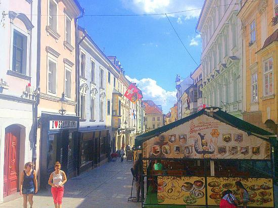 Bratislava - Staroslovenska Krcma - on the right