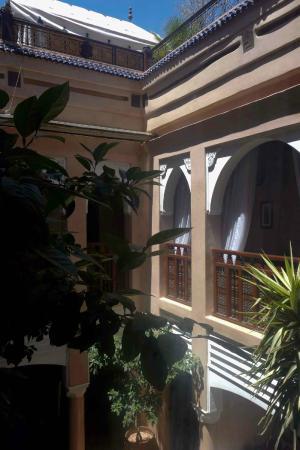 Riad Turquoise : terrasse