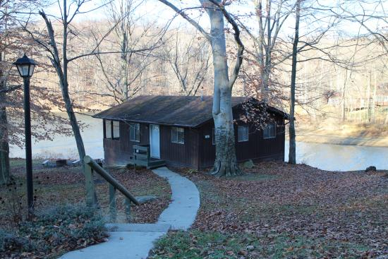 Our lakeside cabin - Picture of Salt Fork Lodge and ... on hocking hills camping map, west branch camping map, hueston woods camping map, mohican camping map, washington camping map, alum creek camping map, lake hope camping map, red rock camping map, jackson lake camping map,