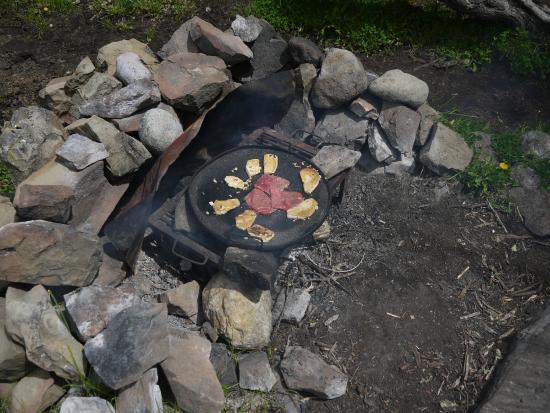 Cabalgata del Glaciar: Pranzo al rifugio