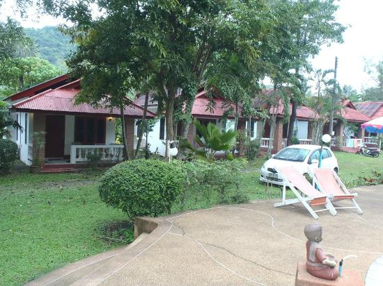 Aonang Mountain Paradise: The resort's area