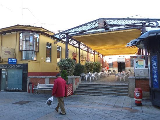 Casa Benito: entrada y terraza