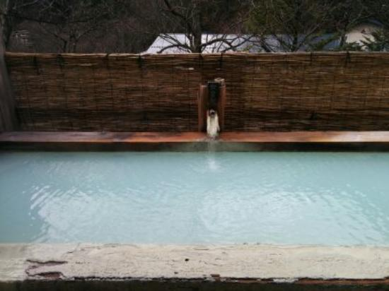 Shirahone Onsen: 露天風呂