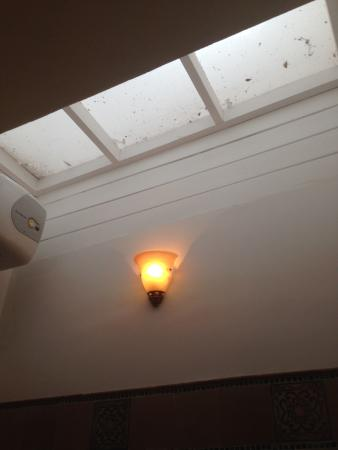 Galle Heritage Villa by Jetwing : The Bathroom Ceiling