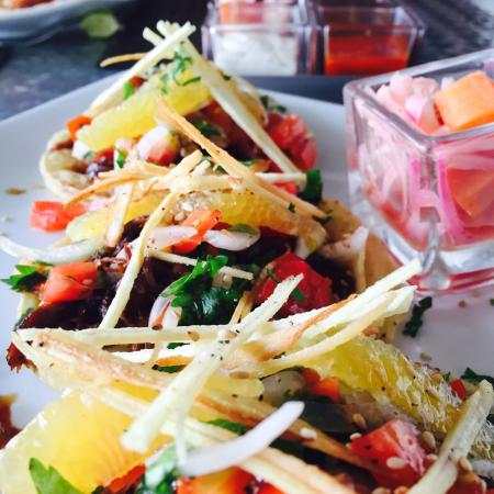Fuego Bar & Grill: Duck Tacos
