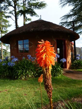 Malealea Lodge: Rondavel