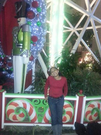 Hilton San Antonio Hill Country Hotel & Spa: Kid in the Lobby area