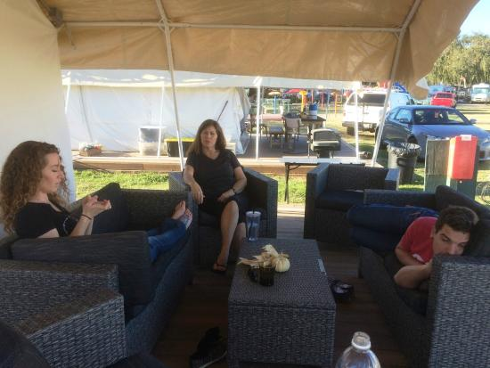 Flying Flags RV Resort & Campground: Tent life