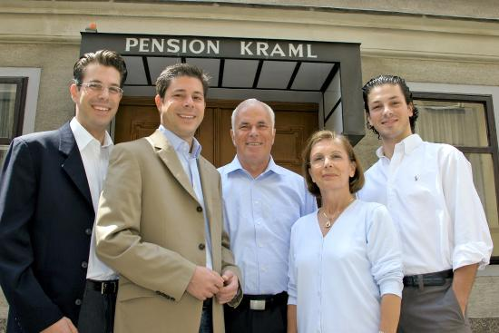 Pension Kraml: Familie Kraml