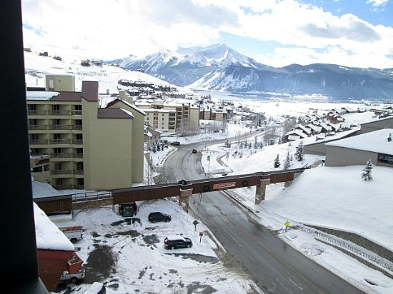 Crested Butte Mountain Resort: View from the Lodge at Mountaineer Square, Mount Crested Butte