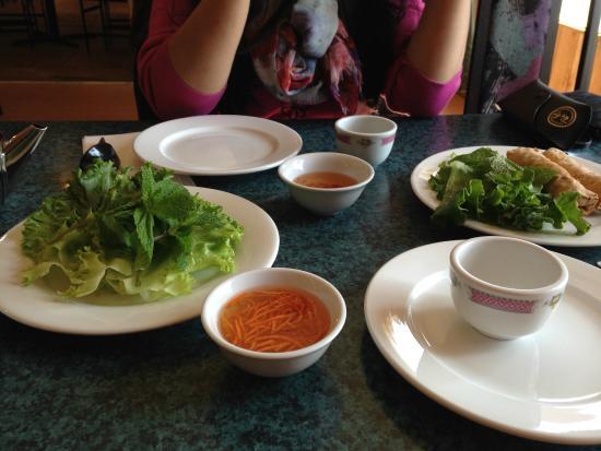 Vietnam Restaurant: Delicious Spring Rolls