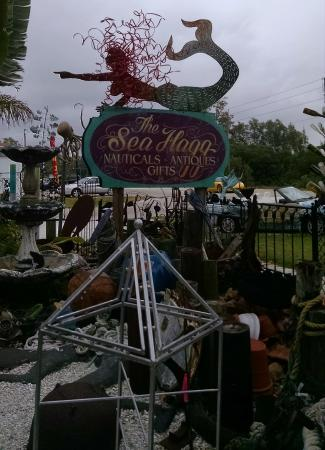Cortez, FL: Sea Hagg sign