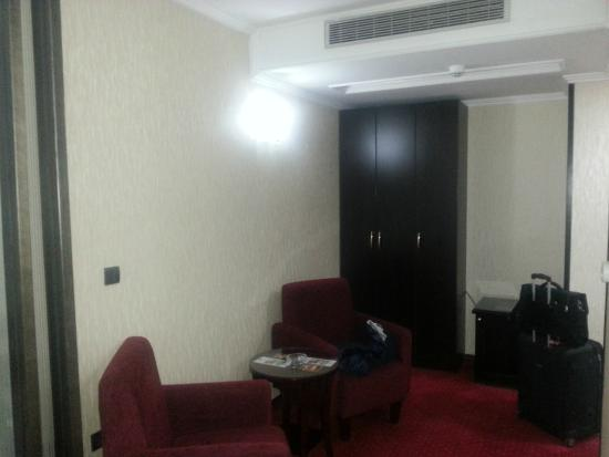 Prezident Hotel: Sitting area
