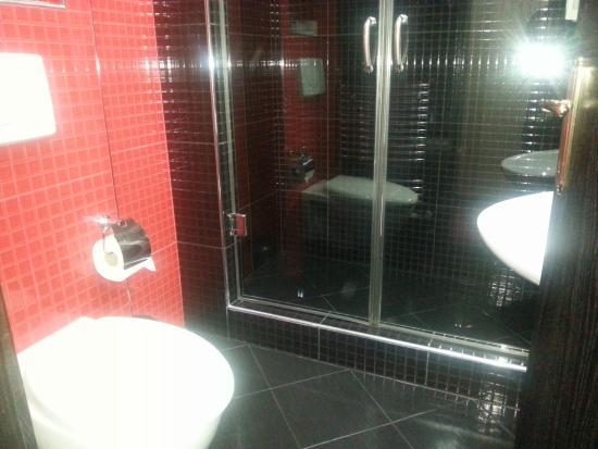 Prezident Hotel: Huge shower