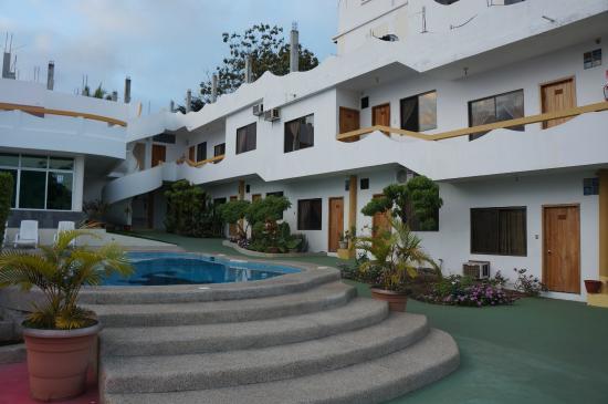 Hotel Pelican Bay: Innenhof