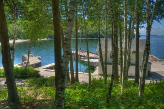 Little Sister Resort: A place to enjoy the bluffs and waters of Green Bay.
