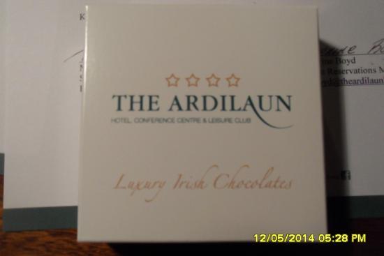 The Ardilaun Hotel : extra amenity